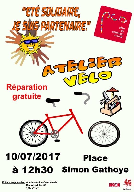 PCS   Atelier vélo FDL
