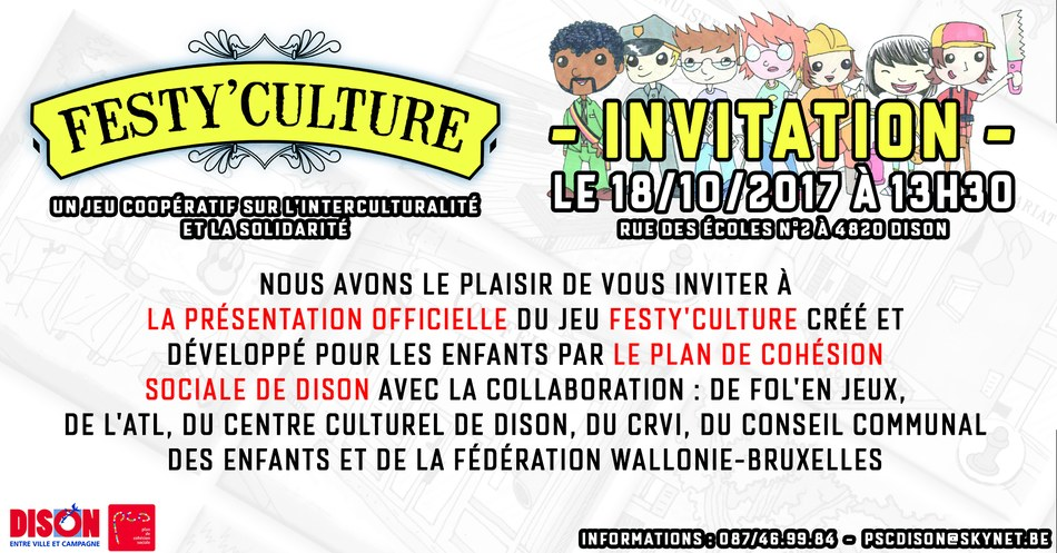 PCS Jeu Festy culture