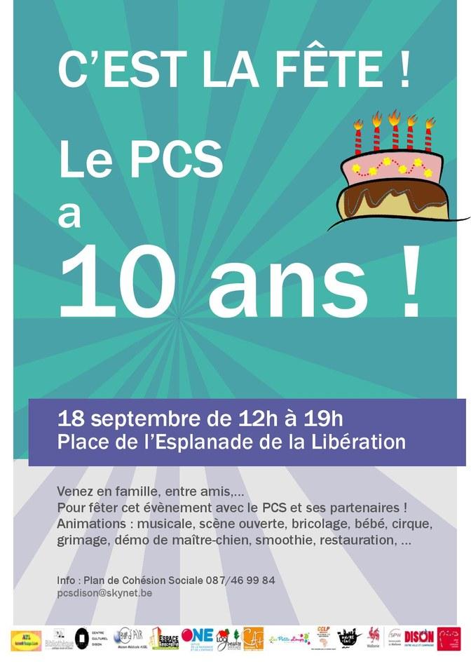PCS   10 ans