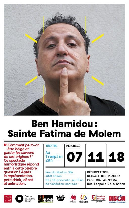 PCS   Affiche Sainte Fatima de Molem