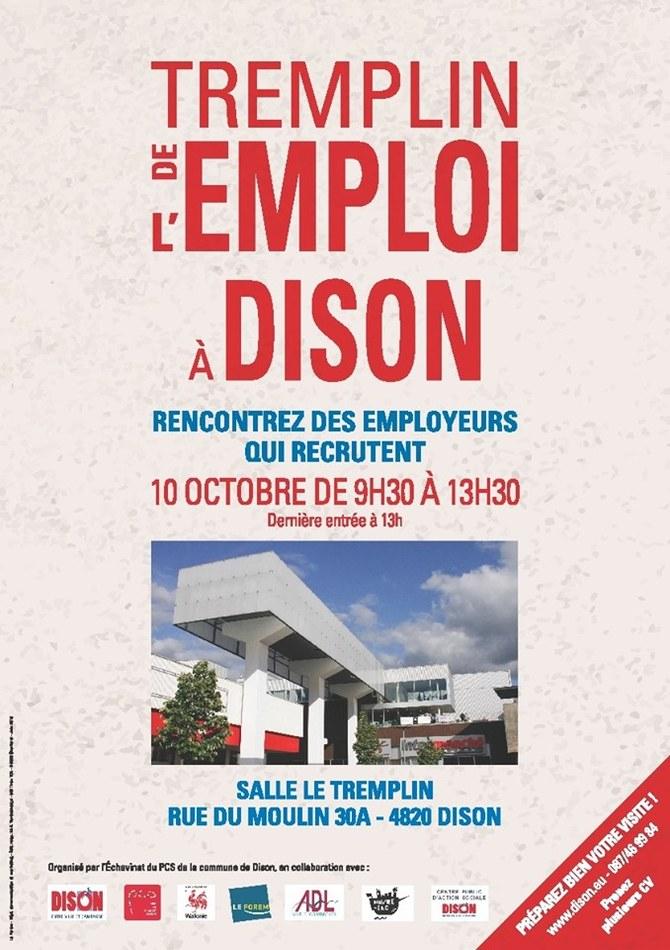 Tremplin emploi 2019